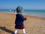Hazel's beach rampage