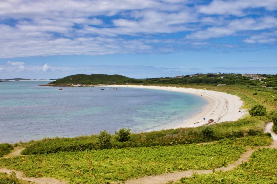 A beach at Hugh Town